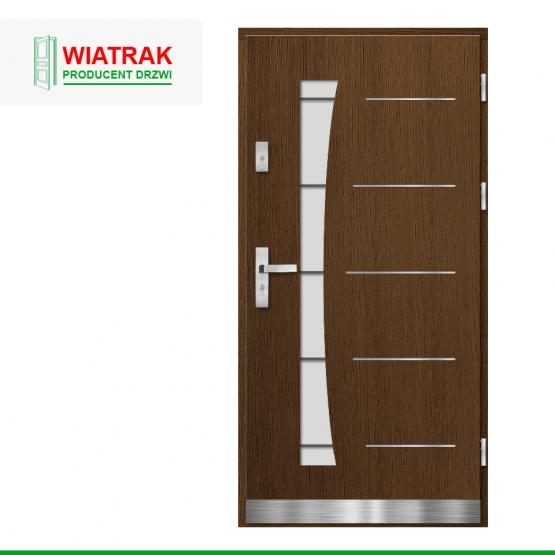 WIATRAK – drzwi płytowe, wzór DP10