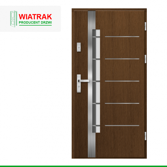 WIATRAK – drzwi płytowe, wzór DP16