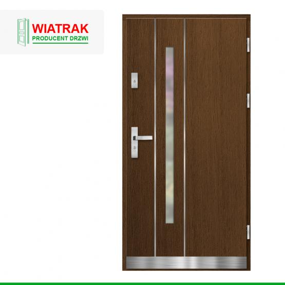 WIATRAK – drzwi płytowe, wzór DP18