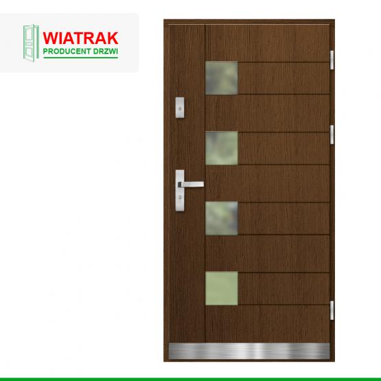 WIATRAK – drzwi płytowe, wzór DP19
