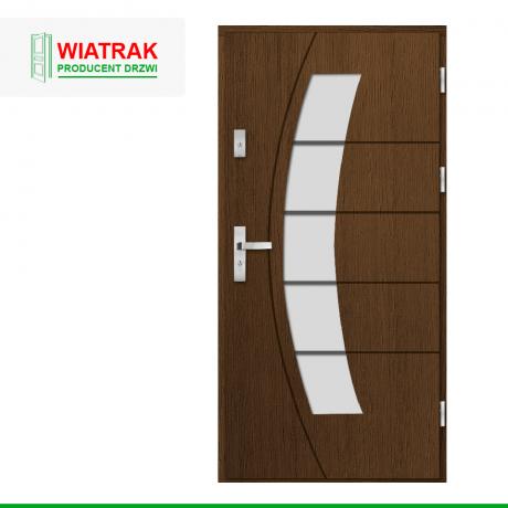 WIATRAK – drzwi płytowe, wzór DP24