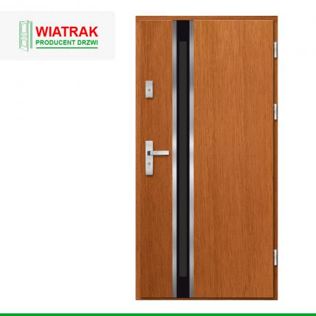 WIATRAK – drzwi płytowe, wzór DP25