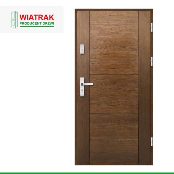 WIATRAK – drzwi płytowe, wzór DP26