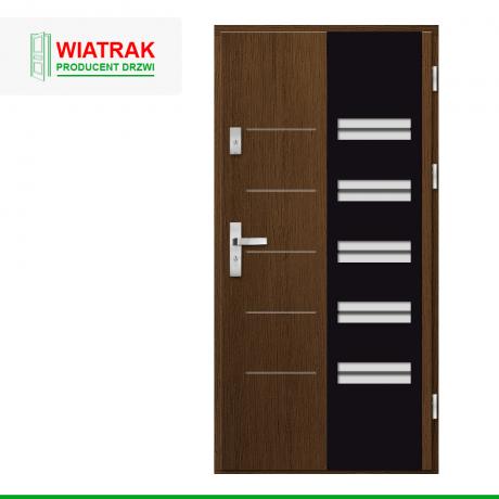 WIATRAK – drzwi płytowe, wzór DP27