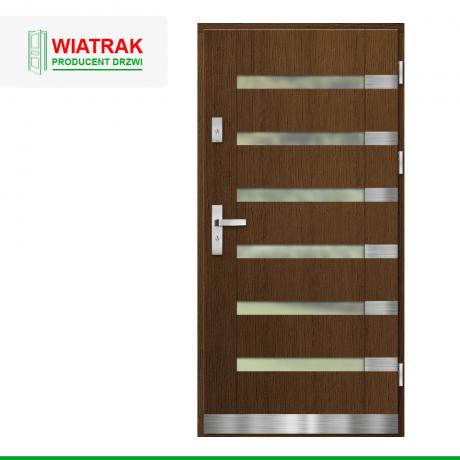 WIATRAK – drzwi płytowe, wzór DP28