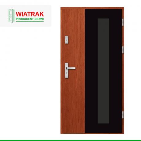 WIATRAK – drzwi płytowe, wzór DP30