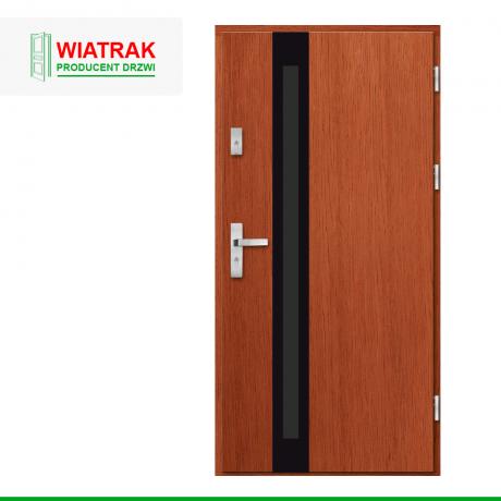WIATRAK – drzwi płytowe, wzór DP31