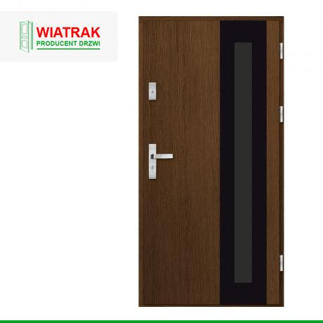 WIATRAK – drzwi płytowe, wzór DP32