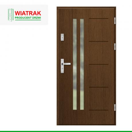 WIATRAK – drzwi płytowe, wzór DP33