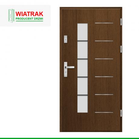 WIATRAK – drzwi płytowe, wzór DP34