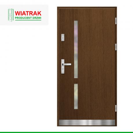 WIATRAK – drzwi płytowe, wzór DP35