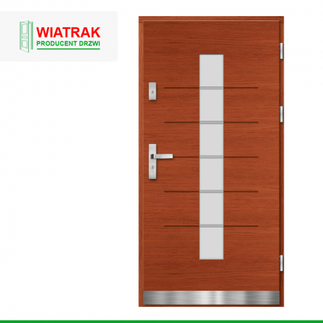 WIATRAK – drzwi płytowe, wzór DP36