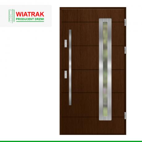 WIATRAK – drzwi płytowe, wzór DP40