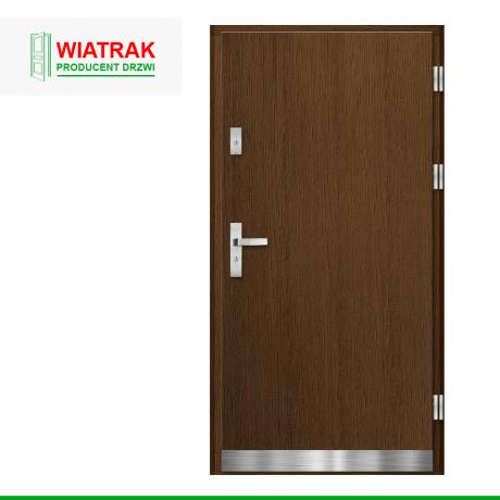 WIATRAK – drzwi płytowe, wzór DP41