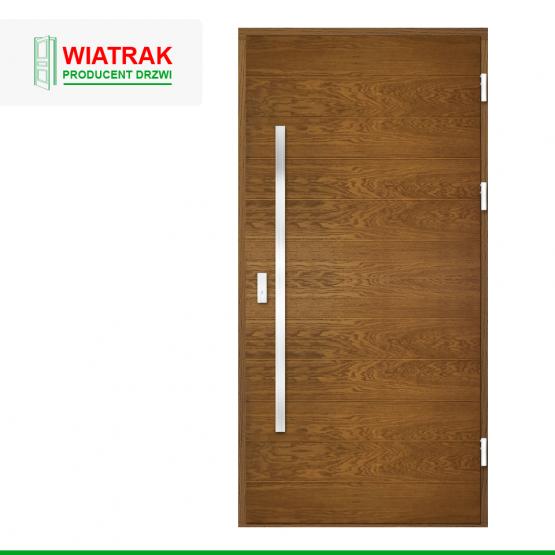 WIATRAK – drzwi płytowe, wzór DP42