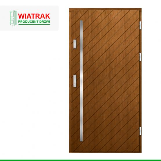 WIATRAK – drzwi płytowe, wzór DP44
