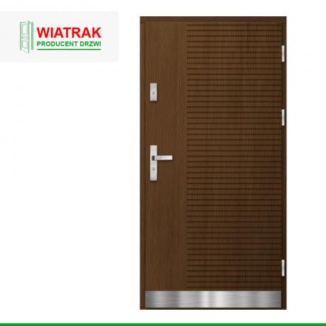 WIATRAK – drzwi płytowe, wzór DP46
