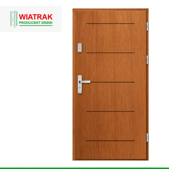 WIATRAK – drzwi płytowe, wzór DP47