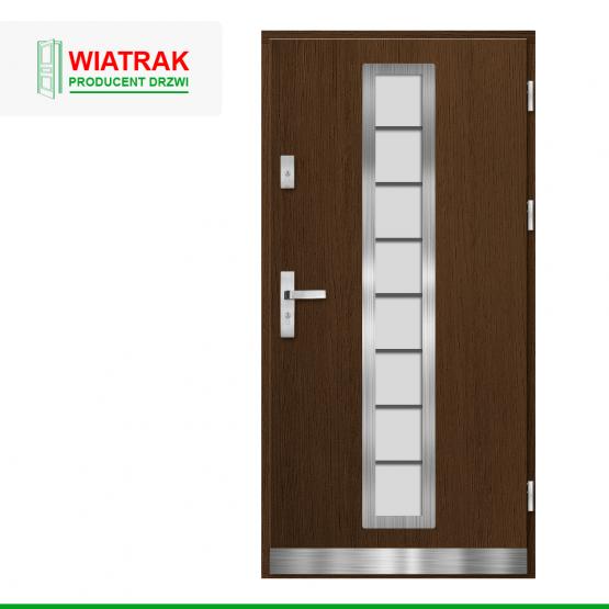 WIATRAK – drzwi płytowe, wzór DP9