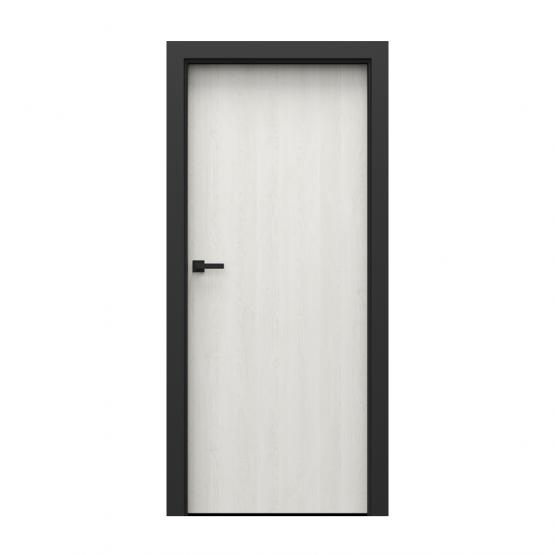 PORTA – drzwi wewnętrzne płycinowe- KOLEKCJA LOFT-DĄB BIAŁY-MODEL 1.1.
