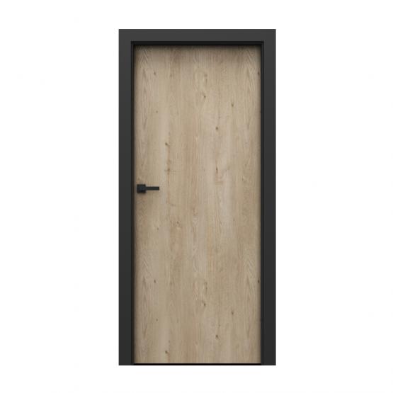 PORTA – drzwi wewnętrzne płycinowe- KOLEKCJA LOFT-DĄB KLASYCZNY-MODEL 1.1.