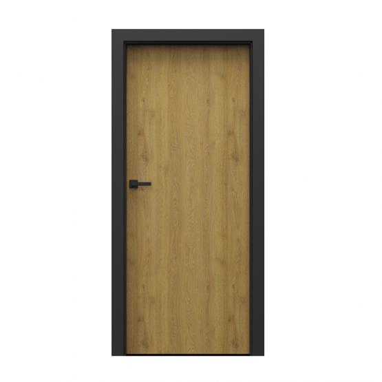PORTA – drzwi wewnętrzne płycinowe- KOLEKCJA LOFT-DĄB NATURALNY-MODEL 1.1.
