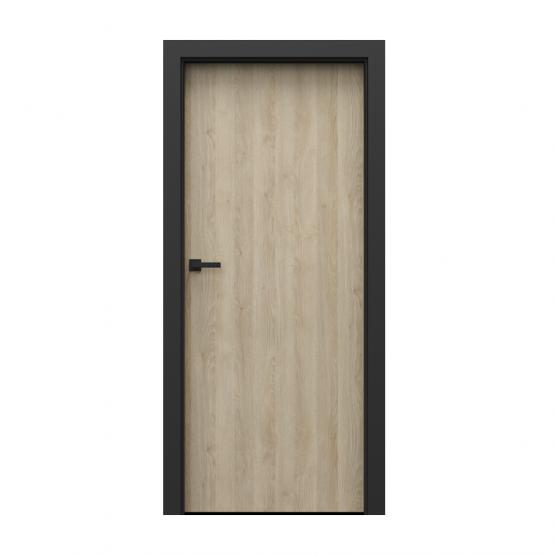 PORTA – drzwi wewnętrzne płycinowe- KOLEKCJA LOFT-DĄB PIASKOWY-MODEL 1.1.