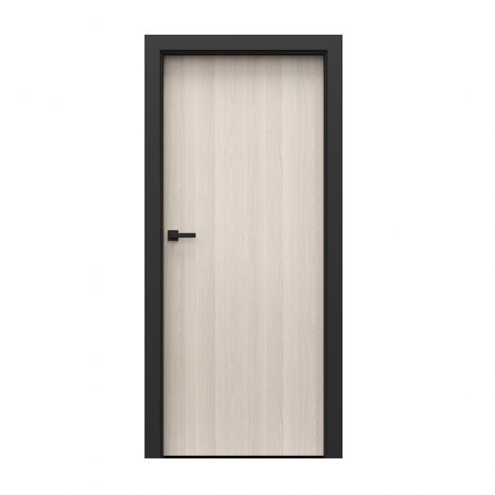 PORTA – drzwi wewnętrzne płycinowe- KOLEKCJA LOFT-ORZECH BIELONY-MODEL 1.1.