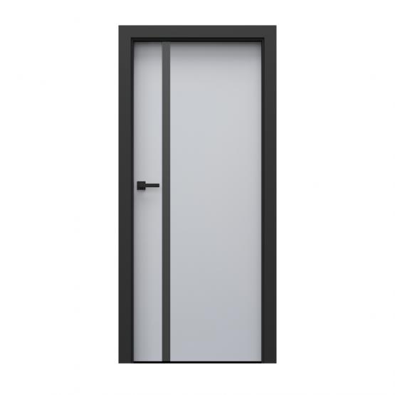 PORTA – drzwi wewnętrzne płycinowe- KOLEKCJA LOFT-POPIELATY EUROINVEST-MODEL 4.A.