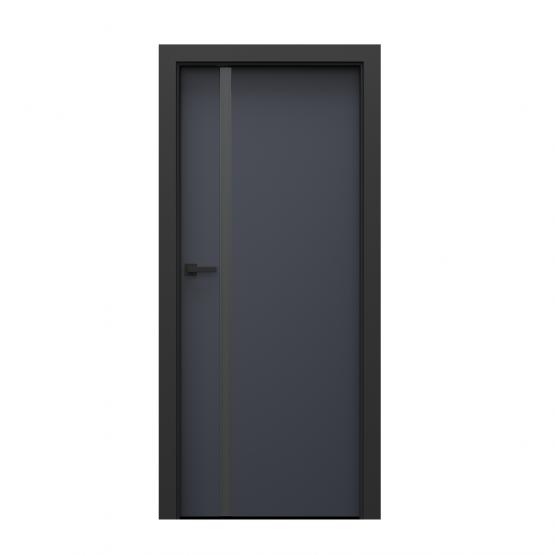 PORTA – drzwi wewnętrzne płycinowe- KOLEKCJA LOFT-ANTRACYT-MODEL 4.A.