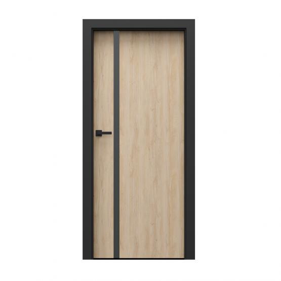 PORTA – drzwi wewnętrzne płycinowe- KOLEKCJA LOFT-BUK SKANDYNAWSKI-MODEL 4.A.