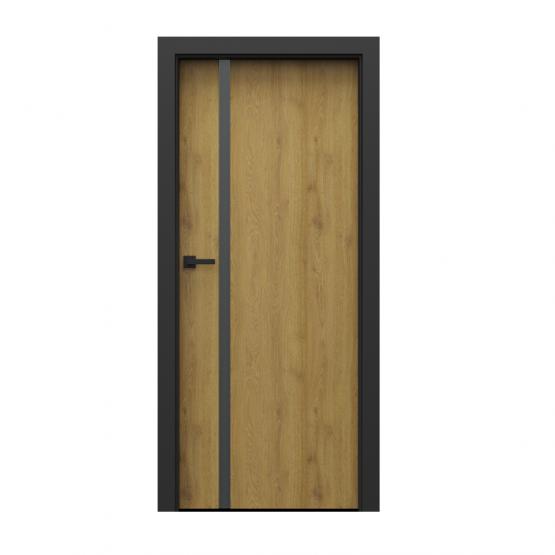 PORTA – drzwi wewnętrzne płycinowe- KOLEKCJA LOFT-DĄB NATURALNY-MODEL 4.A.