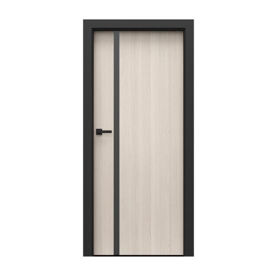 PORTA – drzwi wewnętrzne płycinowe- KOLEKCJA LOFT-ORZECH BIELONY-MODEL 4.A.