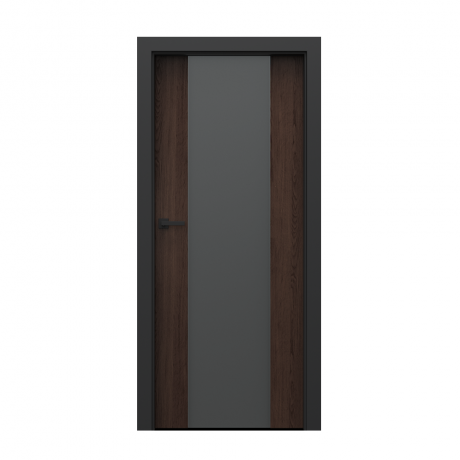 PORTA – drzwi wewnętrzne płycinowe- KOLEKCJA LOFT-DĄB HAWANA-MODEL 4.B.
