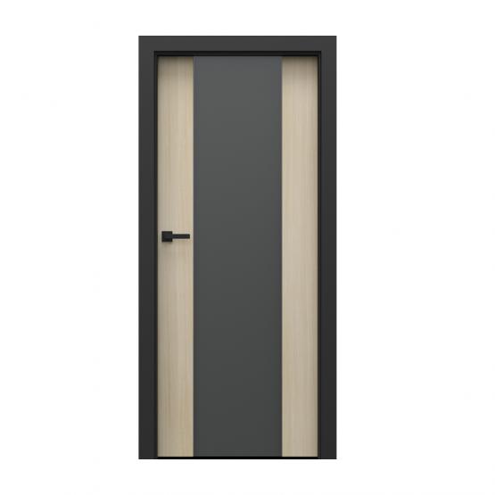 PORTA – drzwi wewnętrzne płycinowe- KOLEKCJA LOFT-DĄB MALIBU-MODEL 4.B.