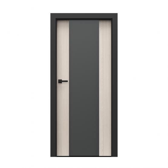 PORTA – drzwi wewnętrzne płycinowe- KOLEKCJA LOFT-ORZECH BIELONY-MODEL 4.B.