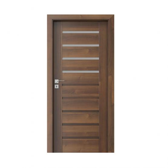 PORTA – drzwi wewnętrzne ramiakowe- KOLEKCJA KONCEPT-ORZECH-A4
