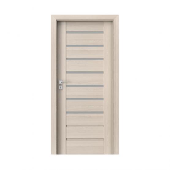PORTA – drzwi wewnętrzne ramiakowe- KOLEKCJA KONCEPT-ORZECH BIELONY-A7
