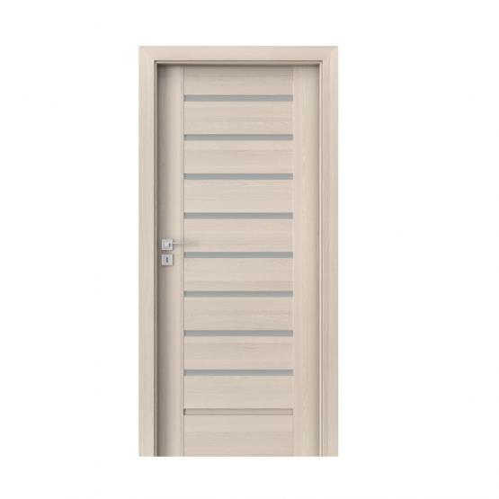 PORTA – drzwi wewnętrzne ramiakowe- KOLEKCJA KONCEPT-ORZECH BIELONY-A8