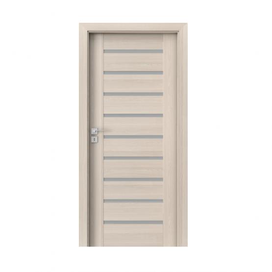 PORTA – drzwi wewnętrzne ramiakowe- KOLEKCJA KONCEPT-ORZECH BIELONY-A9