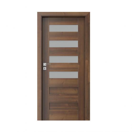 PORTA – drzwi wewnętrzne ramiakowe- KOLEKCJA KONCEPT-ORZECH-C4