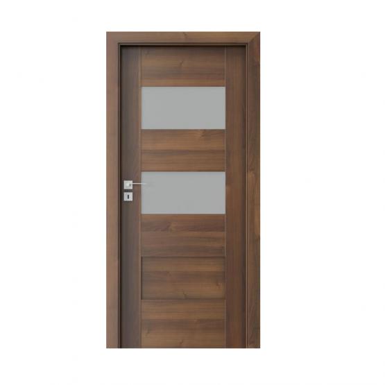 PORTA – drzwi wewnętrzne ramiakowe- KOLEKCJA KONCEPT-ORZECH-K2