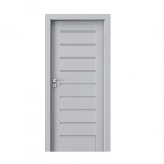 PORTA – drzwi wewnętrzne ramiakowe- KOLEKCJA KONCEPT-POPIELATY EUROINVEST-A4