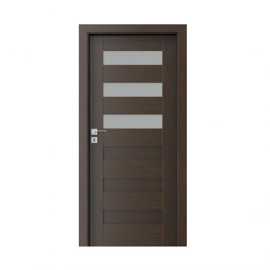 PORTA – drzwi wewnętrzne ramiakowe- KOLEKCJA KONCEPT-WENGE-C3
