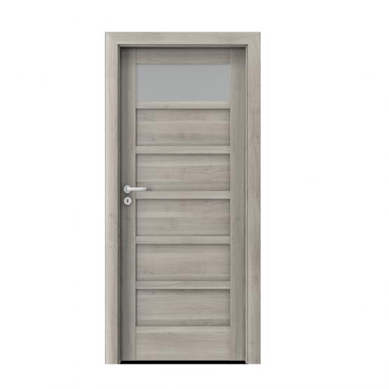 PORTA – drzwi wewnętrzne ramiakowe- KOLEKCJA VERTE HOME A – AKACJA SREBRNA- A1
