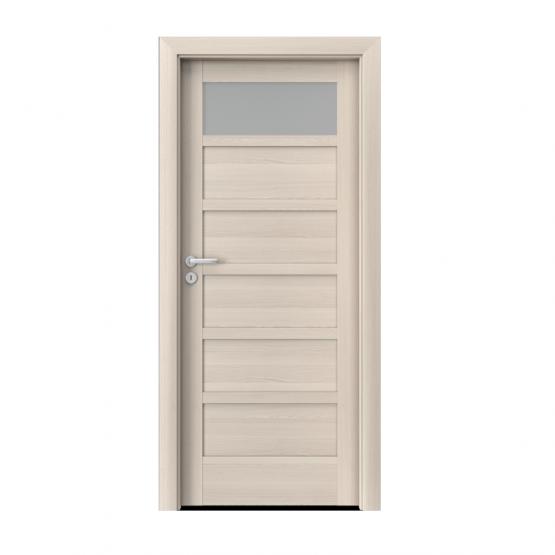 PORTA – drzwi wewnętrzne ramiakowe- KOLEKCJA VERTE HOME A – ORZECH BIELONY – A1
