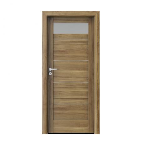 PORTA – drzwi wewnętrzne ramiakowe- KOLEKCJA VERTE HOME C – AKACJA MIODOWA – INTARSJE -C1