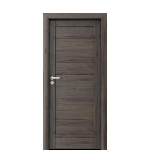 PORTA – drzwi wewnętrzne ramiakowe- KOLEKCJA VERTE HOME C – DĄB CIEMNY – C0