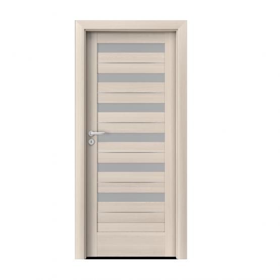 PORTA – drzwi wewnętrzne ramiakowe- KOLEKCJA VERTE HOME D – ORZECH BIELONY – INTARSJE – D6