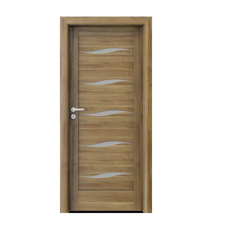 PORTA – drzwi wewnętrzne ramiakowe- KOLEKCJA VERTE HOME E-F – AKACJA MIODOWA – F5